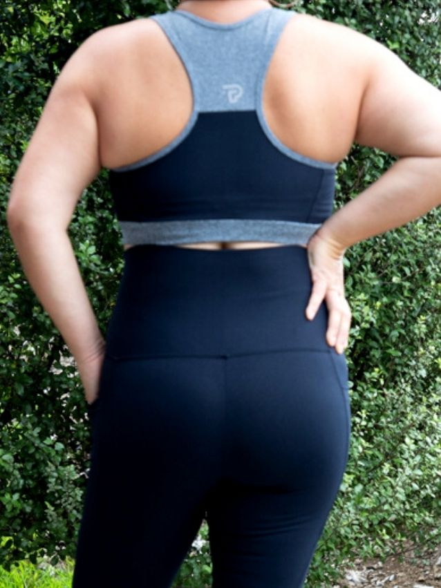 Black 3/4 Length with pockets